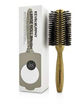 Large Roll Brush Cepillo Redondo Grande De Bambu Natural 1u. - Kevin Murphy