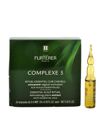Complexe 5 Concentrado Vegetal Regenerador 24amp. - Rene Furterer