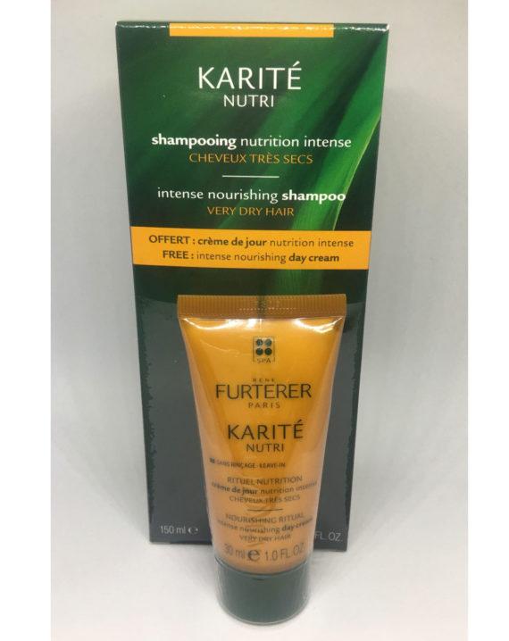Karite Nutri Champu 150ml. + Crema Dia 30ml. - Rene Furterer