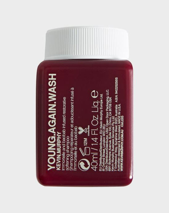 Young Again Wash Champu Reparador Anti-edad 40ml - Kevin Murphy