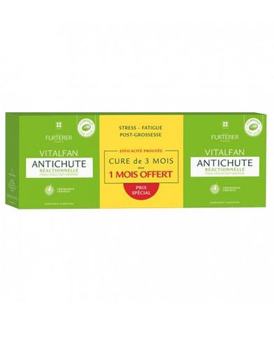 Vitalfan Complemento Alimenticio Anticaida Reaccional 2+1 - Rene Furterer