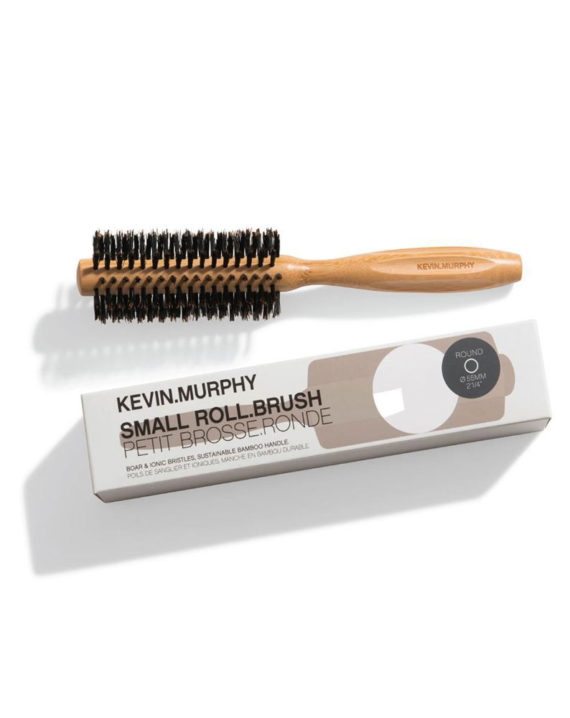 Small Round Brush Cepillo Redondo Pequeño De Bambu Natural 1u. - Kevin Murphy